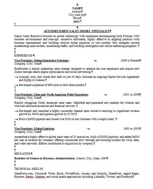 Is Your Résumé Formatted Properly?