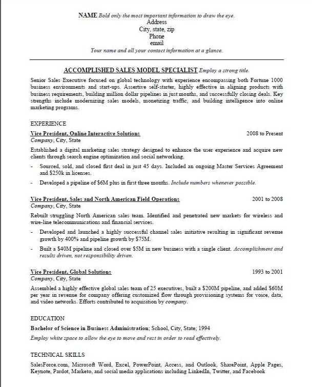 Formatting Your Résumé For Maximum Readability By